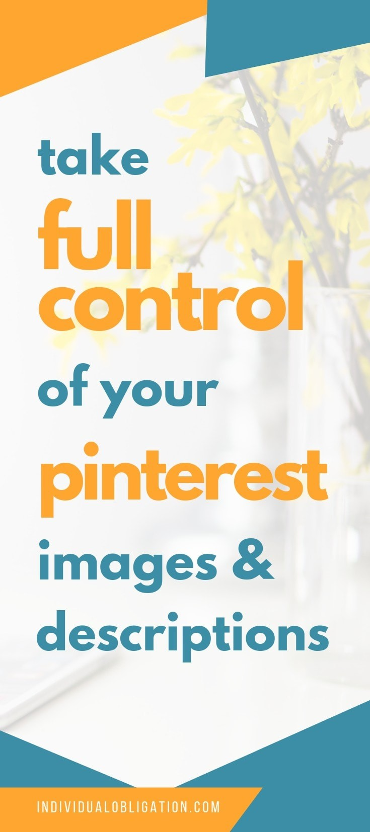 Pinterest marketing strategy for taking full control of Pinterest descriptions