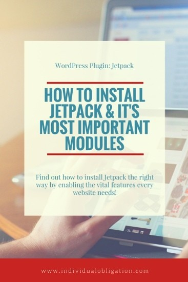 WordPress Jetpack Plugin: How to install Jetpack & it's most important modules.