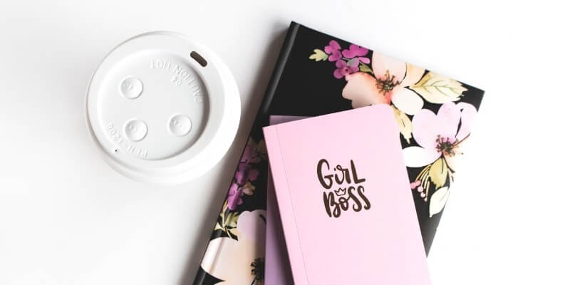 The best tools for bloggers writing tools header image of flower notebook and coffee cup