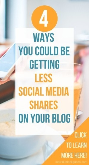4 ways you could be getting less social media sharing on your blog