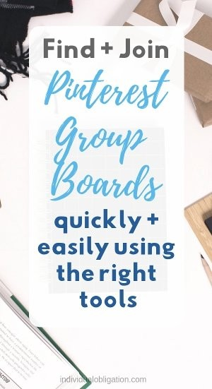 Find + join Pinterest group boards quickly and easily using the right tools