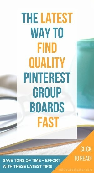 The latest way to find quality pinterest group boards fast