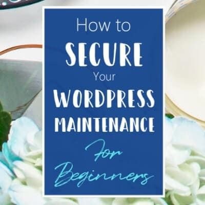 How To Secure Your WordPress Maintenance For Beginners