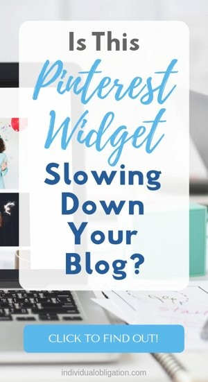 Is this Pinterest widget slowing down your blog?