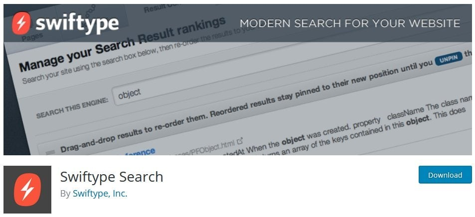 Wordpress Search Widget Way To Improve Searches With The WordPress Search Plugin Swiftype Search
