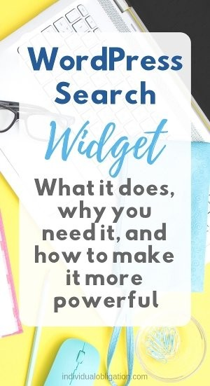 WordPress search widget- what it does, why you need it and how to make it more powerful