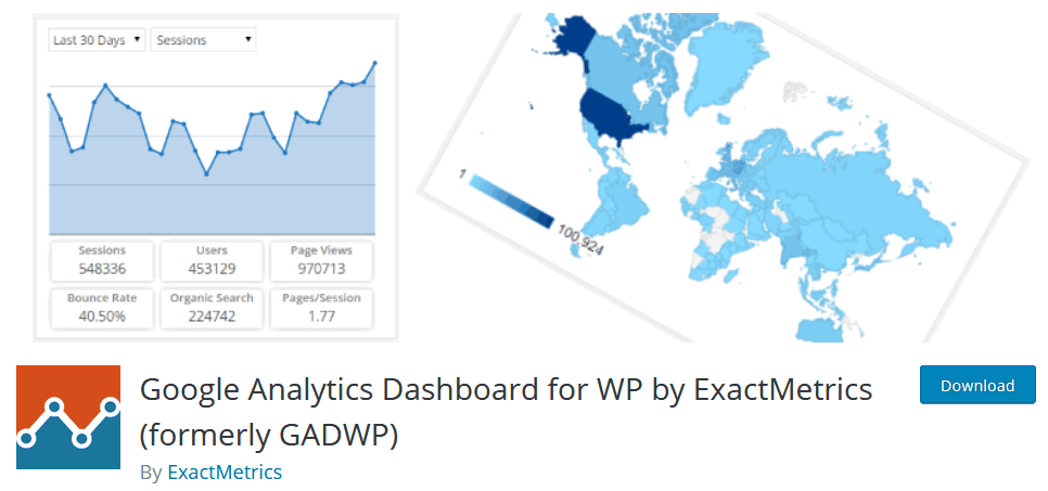 How To Setup Google Analytics On WordPress Using The Plugin Google Analytics Dashboard For Wp By Exactmetrics Formerly Gadwp