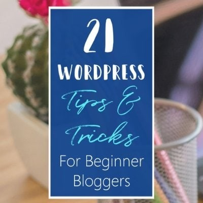Wordpress Tips Tricks & Hacks For Beginner Bloggers Blogging Tips WordPress For Beginners Featured 1 L Default Blue