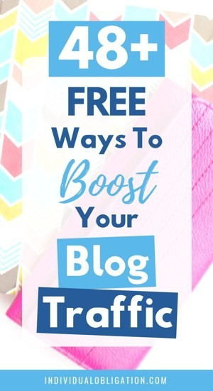 48+ free ways to boost your blog traffic