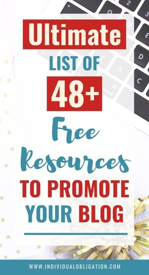Ultimate list of 48+ free resources to promote your blog