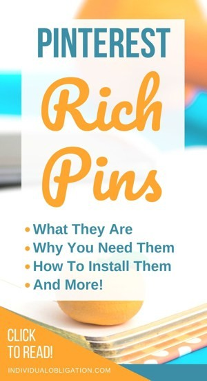 Pinterest rich pins, what they are, why you need them, how to install them and more!