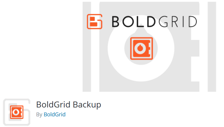 Wordpress Backup Plugin Boldgrid Backup