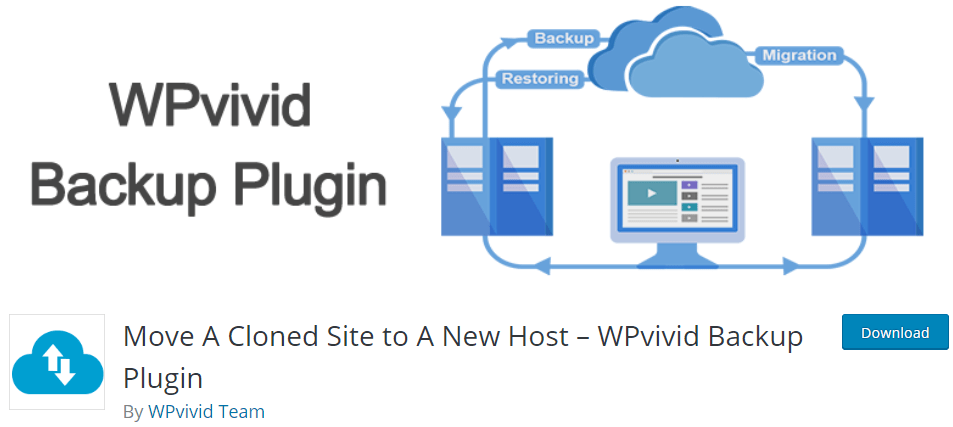 Wordpress Backup Plugin Wpvivid For Cloning And Backups
