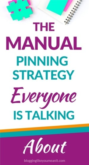 Pinteresting Strategies The Pinterest Manual Pinning Marketing Strategy For Beginner Bloggers