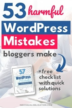 53 mistakes beginners make when they start a wordpress blog and a free checklist to fix them