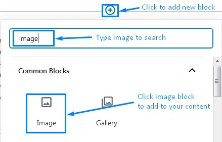 Wordpress Gutenberg How To Add An Image Block To Add Links