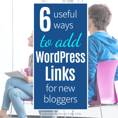 Wordpress Links Guide For New Bloggers B Featured