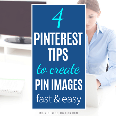 How To Create Pinterest Pin Images Fast & Easy For Pinterest Marketing B Featured