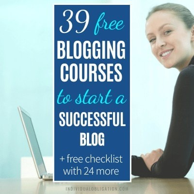 Free Blogging Courses For Bloggers To Learn How To Blog And Make Money Online Featured