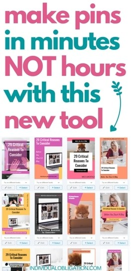 How To Create Fresh Pins For Your Blog In Minutes Using This New Blogging Tool Tailwind Create