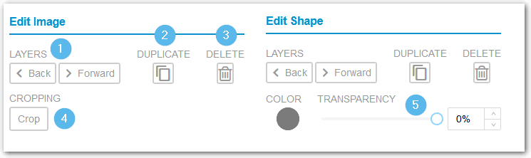Tailwind Create Edit Image And Shape Settings To Customize Designs