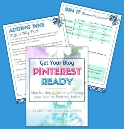 Get Your Blog Pinterest Ready Ebook Blue Bg