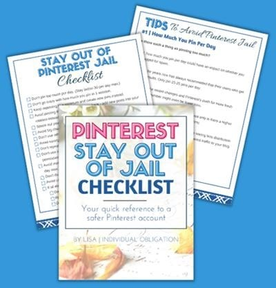 Pinterest Stay Out Of Jail Checklist Blue Bg