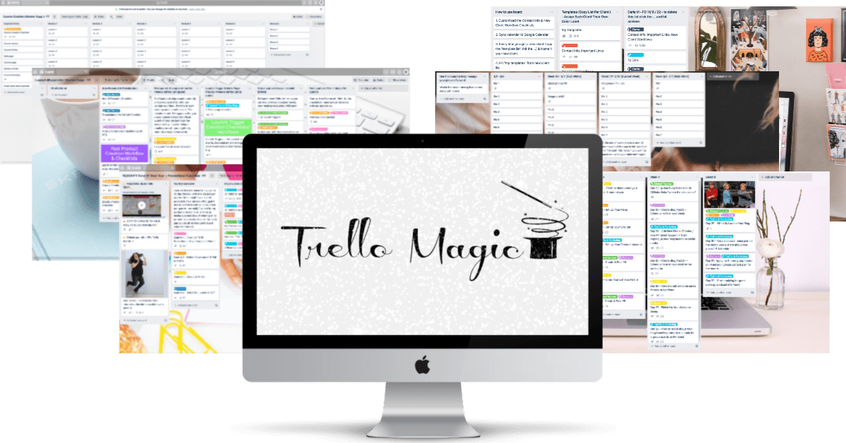 Kate Doster Digital Blog Planner Alternative Trello Magic