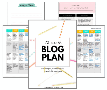 She Means Blogging Printable Free Best Blog Planner With A Strategy